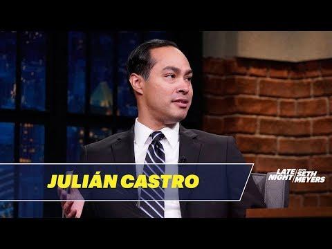 Julián Castro Talks About Barack Obama, Ben Carson and Immigration
