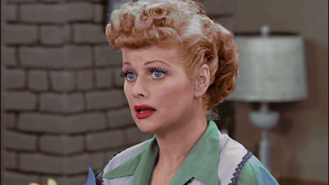 I Love Lucy S Scheme In Color Pop Colorture