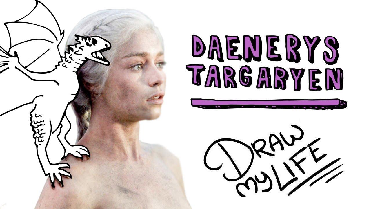 DAENERYS TARGARYEN (KHALEESI) Juego De Tronos | Draw My Life