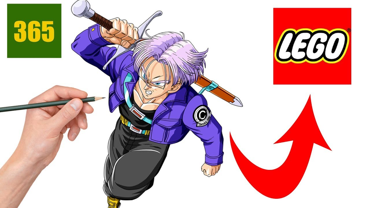 Comment dessiner trunks style lego comment dessiner dragon ball super style lego youtube - Dessin de dragon ball super ...