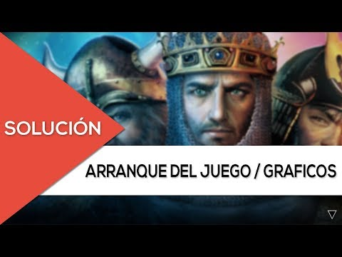 "[Soluciones Age Of Empires  II + Expansion ""TheConquerors""] [Arranque Y Graficos] [2016-2017]"