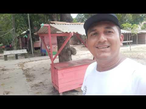 Luiz Nunes na Vila de São Miguel do Pracuúba em Muaná PA.