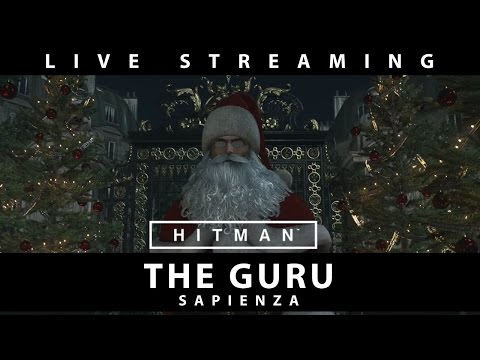 HITMAN Elusive Target #16: The Guru - Figure out Gameplay Live Streaming