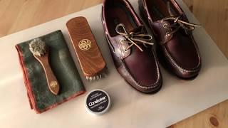 Необходимый базовый уход за кожаной обувью Timberland leather boots and Caretaker leather balm