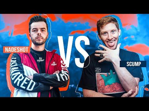SCUMP VS NADESHOT!! THE MODERN WARFARE GUNFIGHT 1v1 FACEOFF!