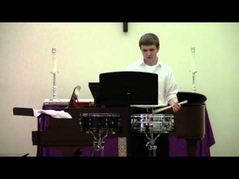 Eric Ashby snare solo - March 20, 2013