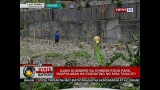 SONA: Ilang kusinero sa Chinese food park, nagpulasan sa pagdating ng mga taga-DTI