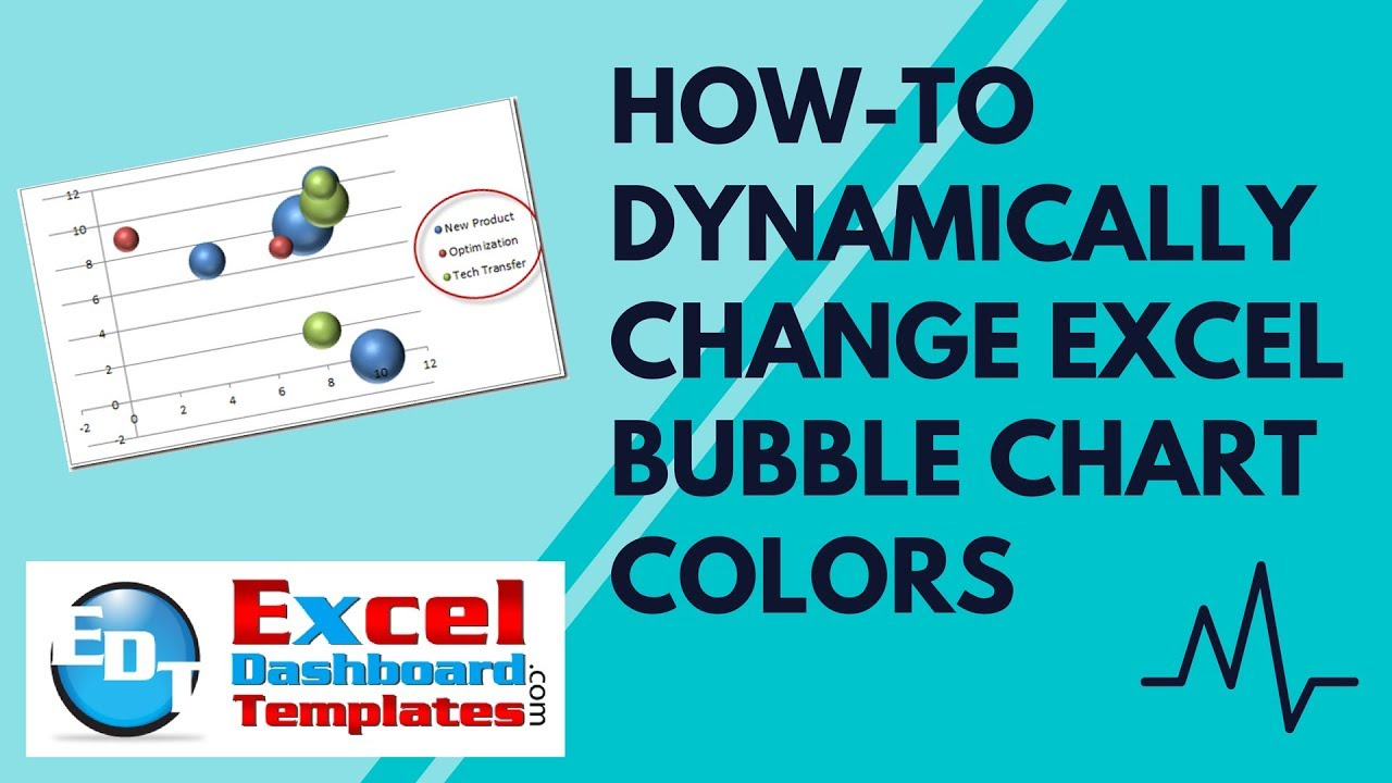 How to dynamically change excel bubble chart colors also youtube rh