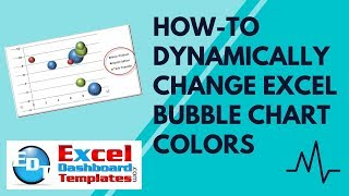 How-to Dynamically Change Excel Bubble Chart Colors