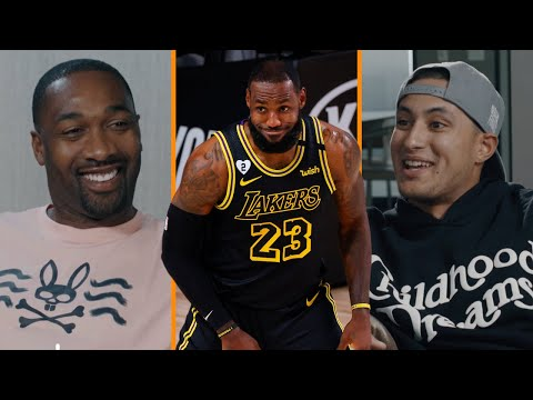 """""""LeBron James Is The GOOFIEST Person Ever!""""   Gilbert Arenas & Kyle Kuzma Talk About The Real LeBron"""