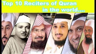 Cover images Top 10 Best Quran reciters in the world | Top 10 Famous IMAMS Which Has Most Beautiful Voice