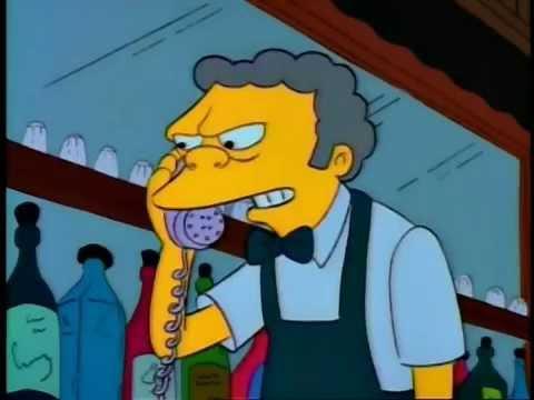 Simpsons prank calls