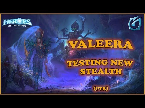 Grubby | Heroes of the Storm - Valeera - Testing New Stealth - PTR - Tomb of the Spider Queen