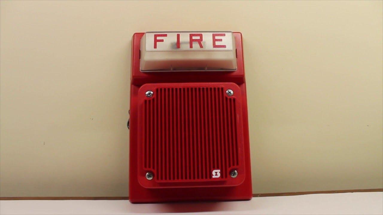 Simplex 4903-9101 w/ 2902-9732 (LifeAlarm Speaker) Fire ...
