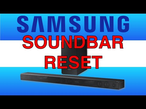 Samsung Soundbar reset ARC not working fix