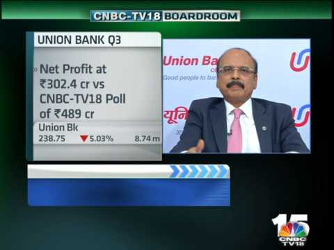Closing Bell - Union Bank - Arun Tiwari, CMD, Union Bank of India