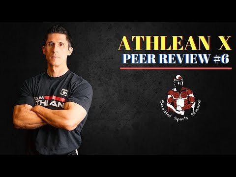 ATHLEAN X (Jeff Cavaliere): Youtube Fitness Peer Review