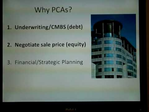 What is a Property Condition Assessment (PCA)?