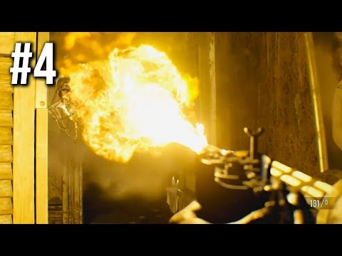 Resident Evil 7 Gameplay Walkthrough Part 4 - Flamethrower (no commentary)