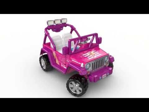 Fisher Price Power Wheels Barbie Jeep Wrangler Toys R Us