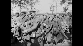 3D Stereoscopic Photos of German POWs in France During World War 1 (1915-1916)