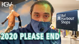 Bal Harbour Shops in a storm... yeah 😅 | Kevin Gannets Vlogs