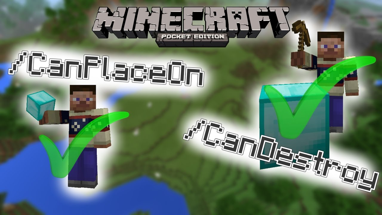 MCPE :: Destroy/Place Blocks in Adventure Mode :: Minecraft Pocket Edition  1 1