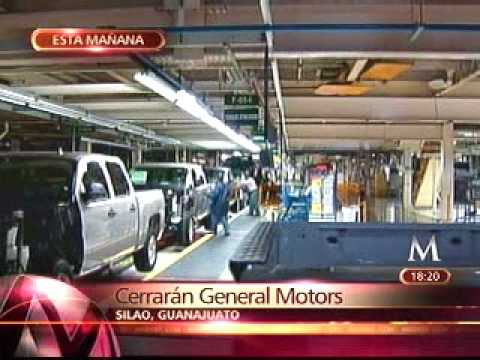 CIERRE DE PLANTAS GENERAL MOTORS