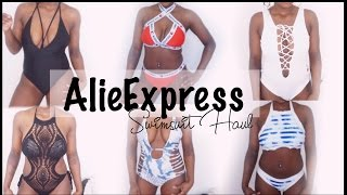 AFFORDABLE Bikini's Under $10! Try On Haul & Review | Alie Express Bikinis 2016 | MB Makeup