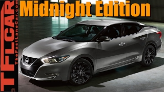 Live! 2017 Nissan Midnight Edition Lineup Debut at the Chicago Auto Show