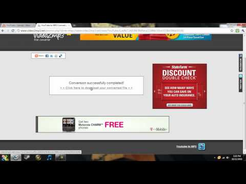 How to get MP3s from Youtube Videos [VOICE INSTRUCTIONS]