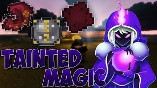 обзор/Гайд по моду Tainted Magic на Майнкрафт версии 1.7.10
