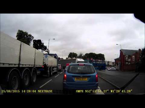 Foreign Lorry Driver Forgets hes in UK