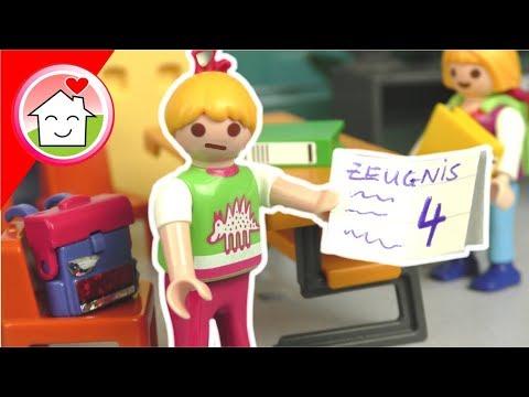 playmobil film deutsch - das zeugnis - geschichte für kinder von familie hauser - youtube