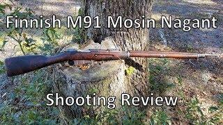 Finnish M91 Mosin Nagant Shooting Review