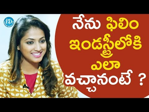 Hariprriya About How He Entered Into Film Industry || Star Talks With Sandy