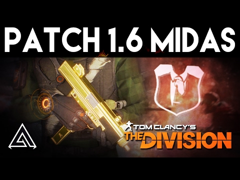The Division | Patch 1.6 MIDAS Exotic SMG Review