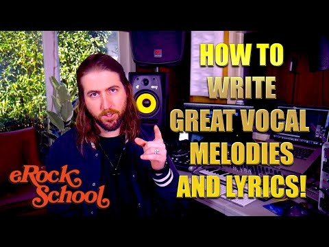 How To Write Catchy Vocal Melodies and Lyrics (Songwriting Tips)