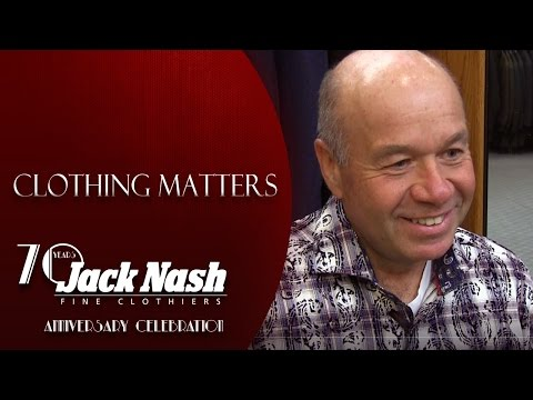 Richard Ciszek  Jack Nash Clothier Customer Testimonial