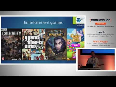 The shape of the games industry - Mata Haggis - Codemotion Amsterdam 2017