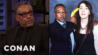Giancarlo Esposito: Fans Want To Interact With Gus Fring - CONAN on TBS