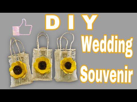 DIY EASY WEDDING SOUVENIR IDEAS // Low Cost // (vlog# 001)