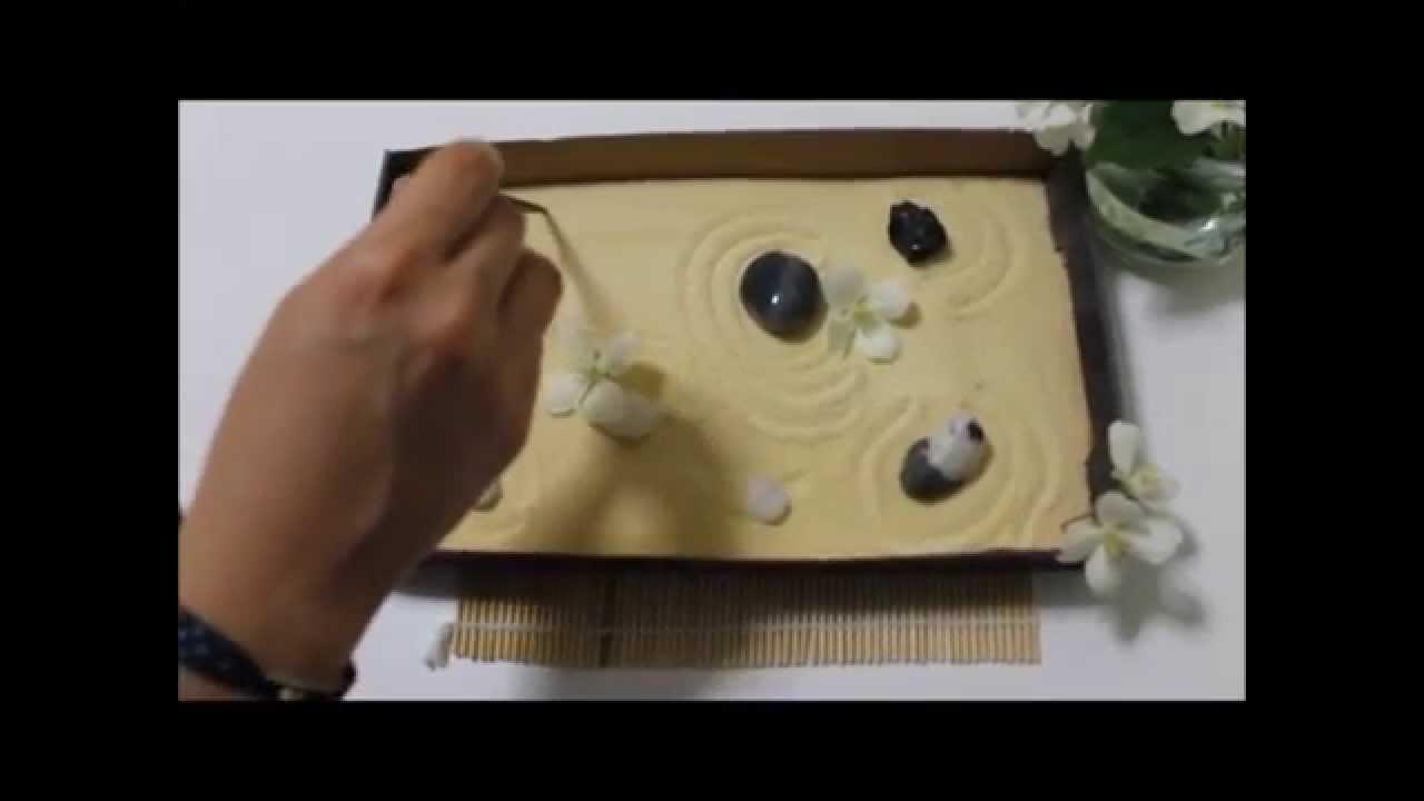 C mo crear un jard n zen en miniatura muy f cil youtube for Como hacer un jardin zen