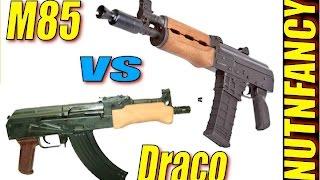 Zastava M85/92 vs Draco: AK Pistol Showdown