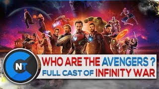 Marvel Avengers Infinity War Cast [In Movie And Real Life]| The Avengers 3 Full Characters List 2018