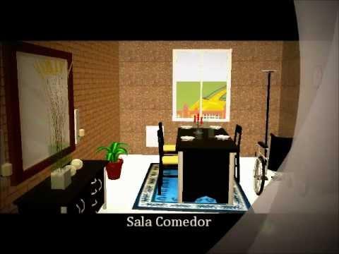 maqueta casa para discapacitados youtube