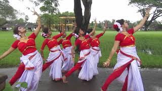 মধু মাধুরী ছড়ালো আকাশ ।।নৃত্য।।আগমনী নৃত্য।।madhu madhuri choralo akash dance||agomoni dance||