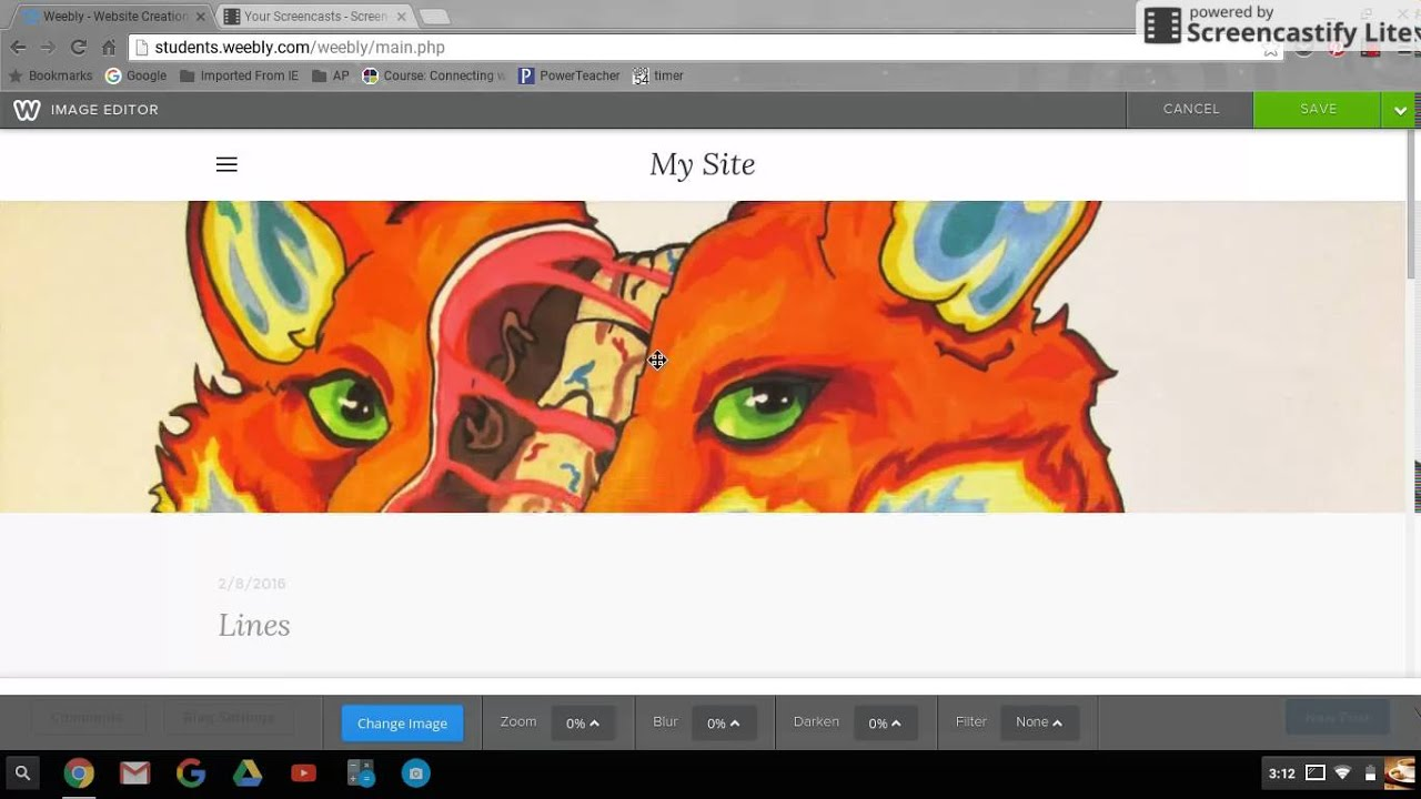 Weebly - How To Change Images in the Header - YouTube