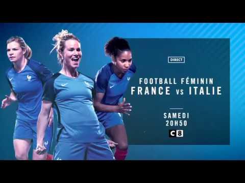 Bande Annonce - Football Féminin - France / Italie