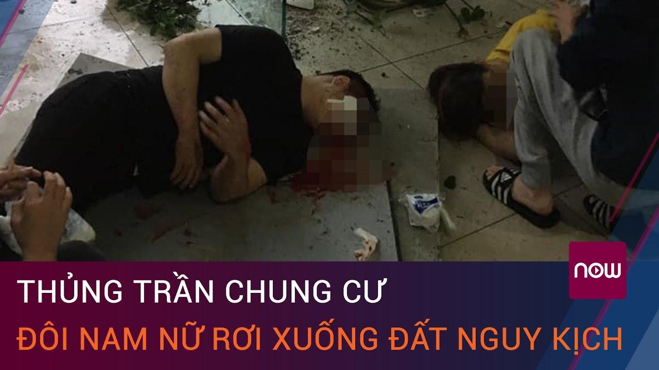 image Hà Nội: Thủng trần tòa nhà chung cư, đôi nam nữ rơi xuống đất nguy kịch | VTC Now
